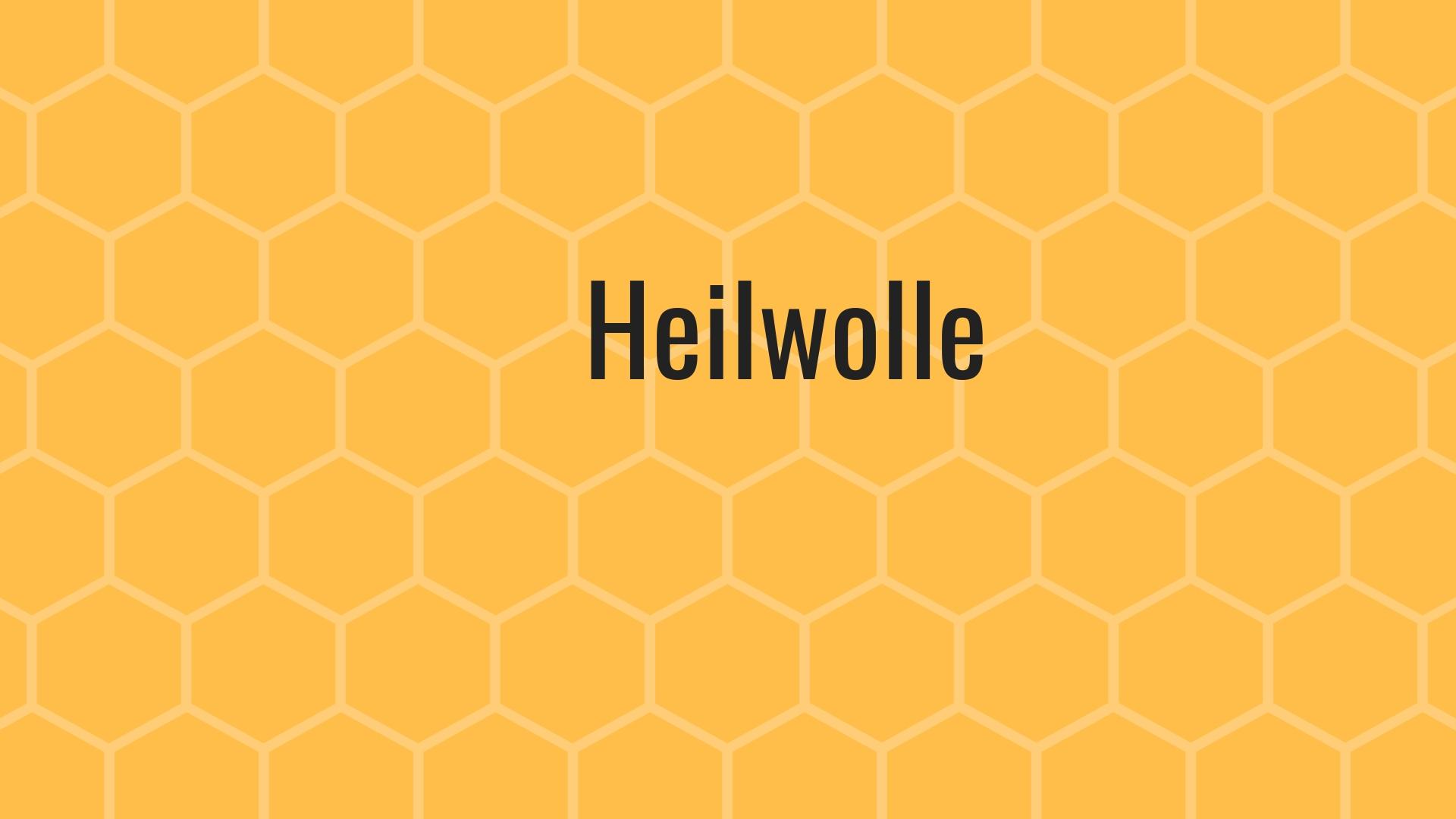 Video Heilwolle bei YouTube
