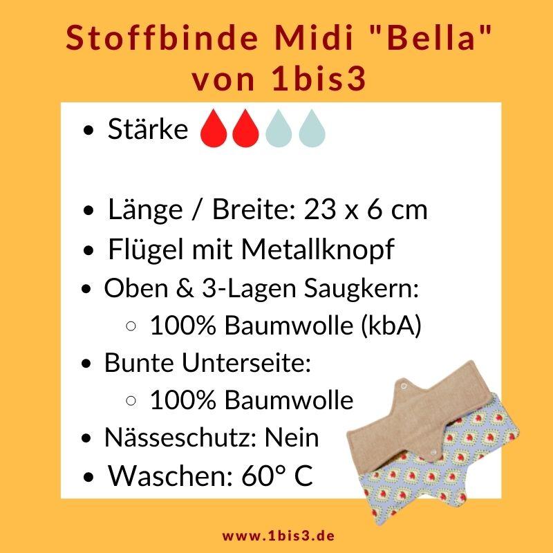 Stoffbinde Bella ohne Nässeschutz