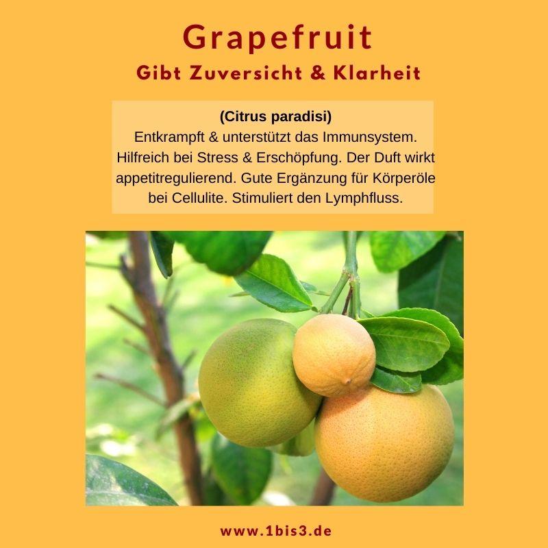 Grapefruit - ätherisches Öl aus der Schale