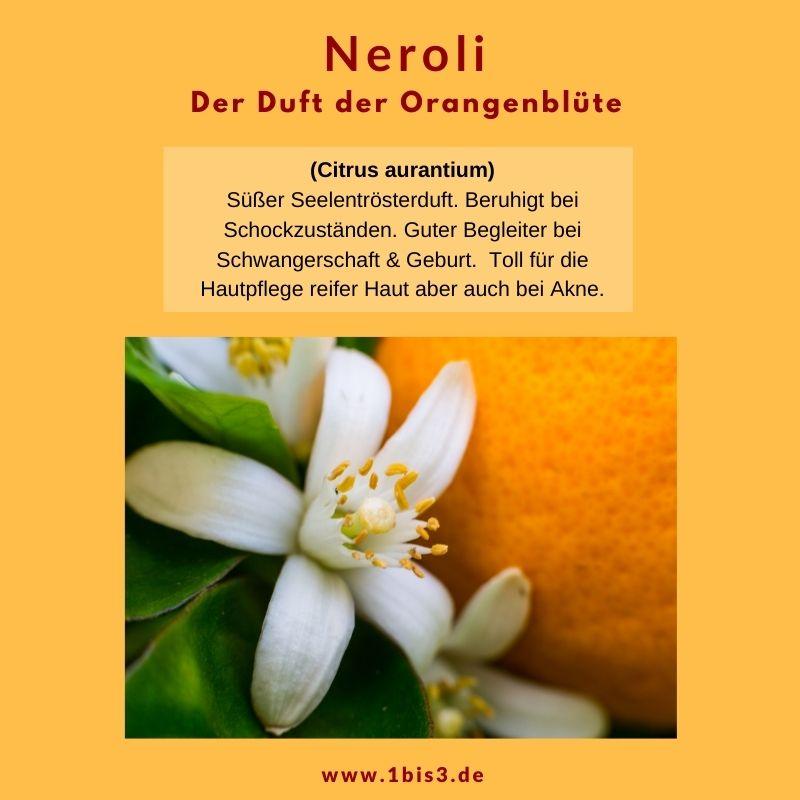 Neroli Orangeblüten Öl