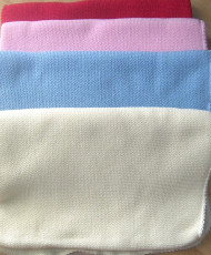 Wolldecke farbig (gestrickt)
