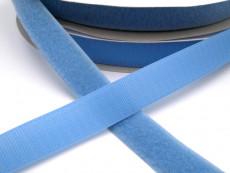 Touch Tape 25 mm Klettband - hellblau (Flausch oder Haken)