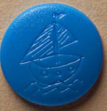 Snaps Gravur Segelboot 20er Set