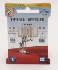 Jersey Nadeln 70-100 (5 St. / Eco) Organ