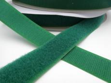 Touch Tape 25 mm Klettband - dunkelgrün (Flausch oder Haken)