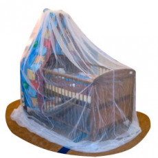 ASMI Mückennetz für Himmelbett/Stubenwagen