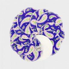 Imse Vimse Abschminkpads Purple Paisley (10 St.)