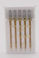 Top-Stitch Titanium Nähnadel 70-100 (5 St.) Organ