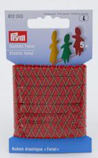 Gummi-Twist farbig (Prym 6,5 mm x 5 Meter)
