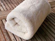 Decke Teddyplüsch Bio-Baumwolle 65 x 80 cm