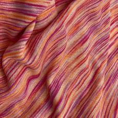 Jersey orange-pink * 100% Hanf (Europa) *
