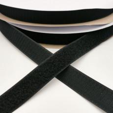 Touch Tape 25 mm Klettband - schwarz (Flausch oder Haken)