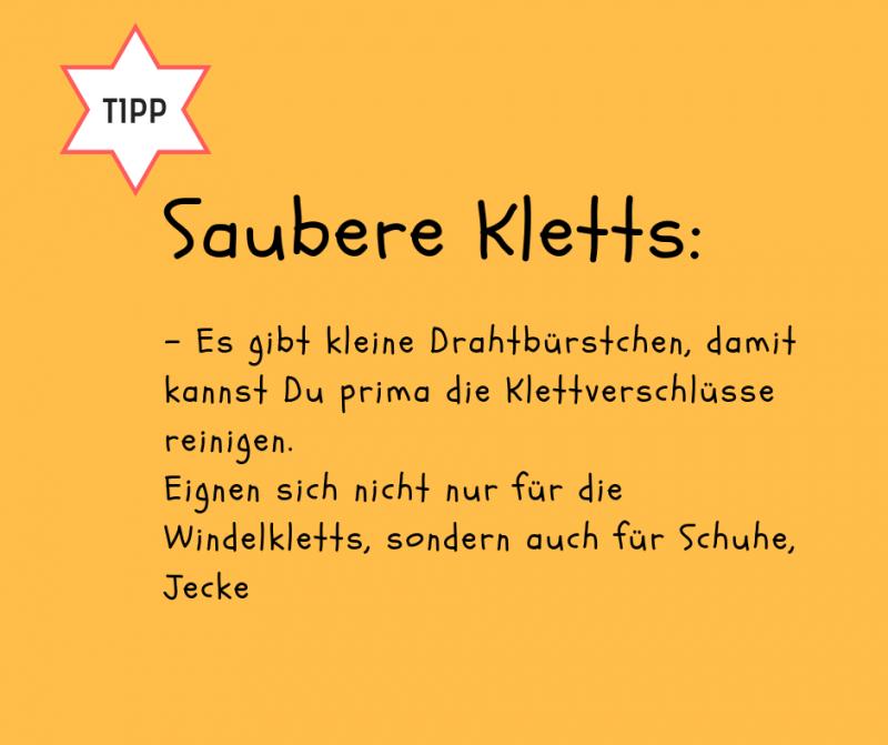 Kamm- und Bürstenreiniger / Klettbürstchen