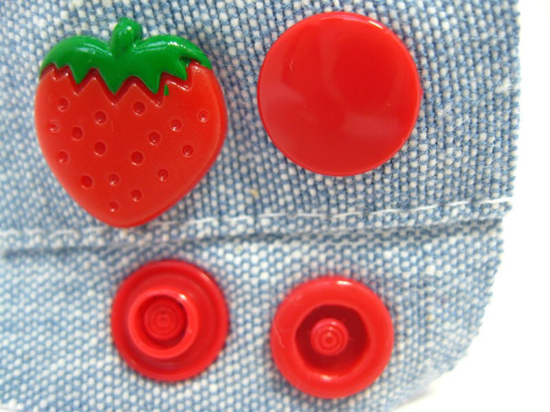 KAM Snap Erdbeere 25er Set