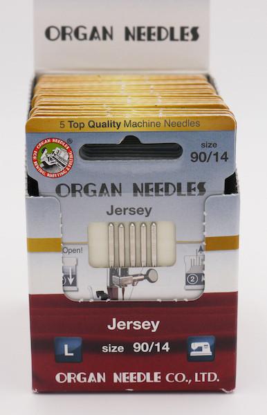 Organ Nadeln Jersey 90/14 (5 Stück)