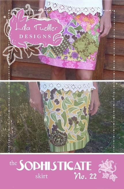 Stophisticate Skirt (Schnittmuster Lila Tueller)