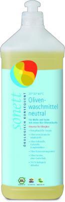 Sonett Oliven-Wollwaschmittel  Neutral 1 Liter