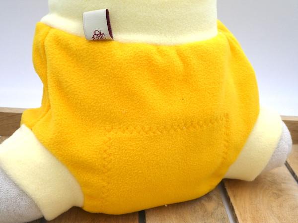 hu-da Fleece Schlupfhose für Stoffwindeln
