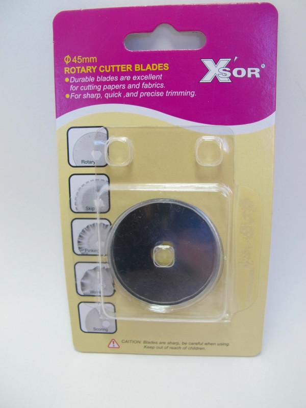 XSOR Ersatzklinge für Rollschneider 45 mm