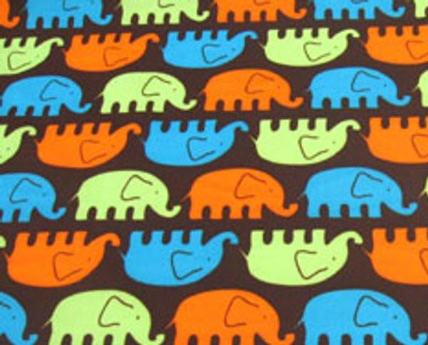 PUL Zuschnitt L/XL - Elefant