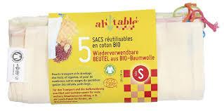Baumwollbeutel kbA Gr. S (5 St.)