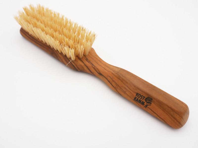 Vegane Haarbürste mit Olivengriff