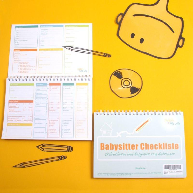 Babysitter Checkliste