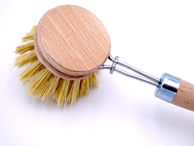 Memo Spülbürste aus Holz (Kopf auswechselbar)