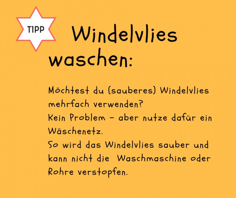 Windelvlies Grünspecht (15,5 x 28 cm)