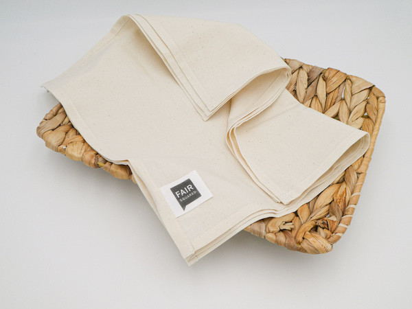 Taschentücher Bio-Baumwolle (3 Stück Fair Squared)