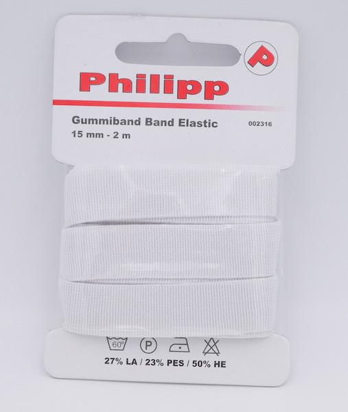Elastic-Band weich 15 mm (Philipp)