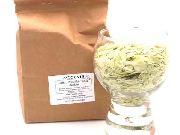 Grüne Waschkernseife Flocken (300 g)