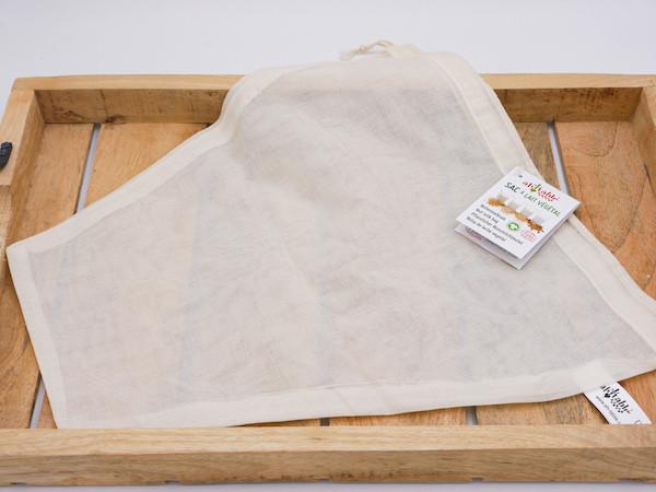 Nussmilchbeutel aus Bio-Baumwolle