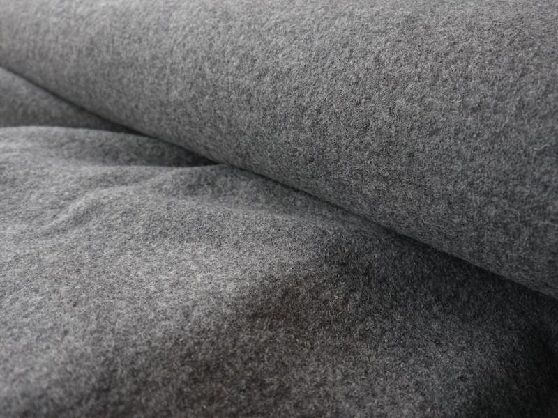 Wollwalk - melangegrau (ab 20 cm)