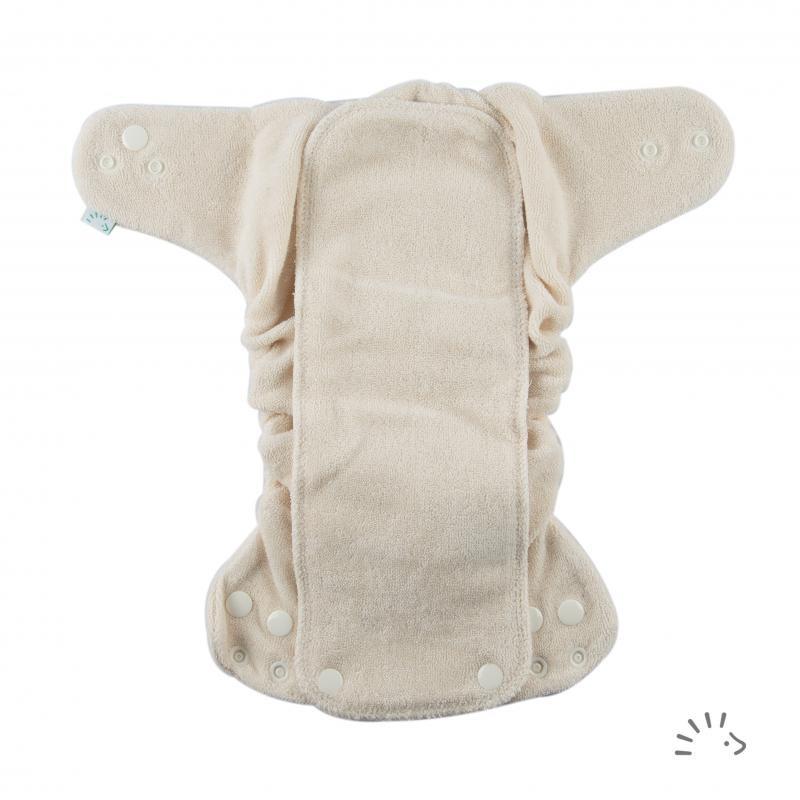Newborn MiniSnap Frottee Organic GOTS (Popolini)
