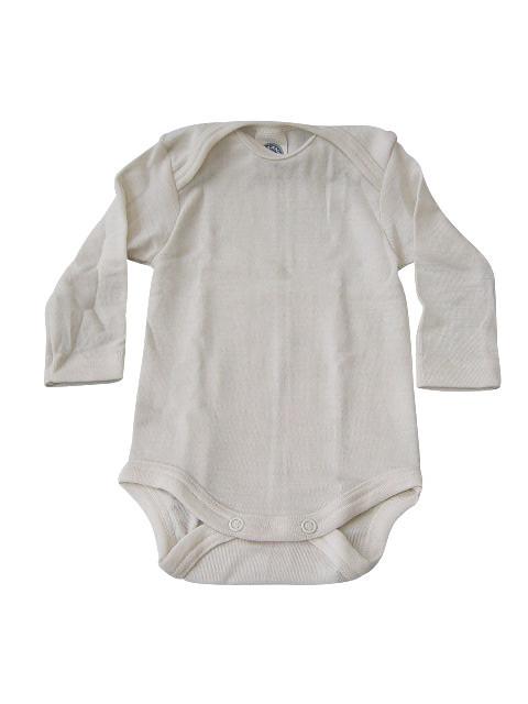 Cosilana Body Baumwolle/Wolle/Seide Langarm