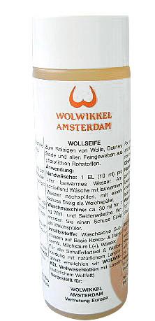 Wollwaschlotion von Wolwikkel 250 ml