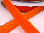 Touch Tape 25 mm Klettband - orange (Flausch oder Haken)