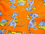 PUL Zuschnitt S/M - Mäuse