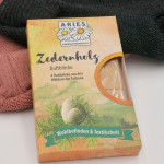 Zedernholz Duftblöcke (4 x 26 g, Aries)