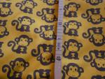 PUL Zuschnitt L/XL - Affen