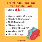 Penelope Stoffbinde Tag - 25 x 5cm