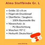 Almo Binde Gr. L (32 x 8 cm)