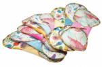 Blümchen Slipeinlage Butterfly (3 Stück / Velour farbig)