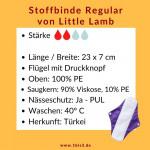Little Lamb Tagbinde - 23 x 7 cm