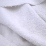 Frottee Bio-Baumwolle (weiß)