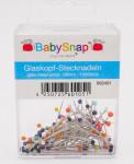 BabySnap Glaskopfstecknadeln (35 mm - 100 Stück)