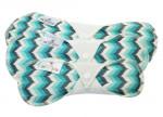 Blümchen Stoffbinde Butterfly (3 Stück)
