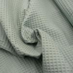 Waffelpique Bio-Baumwolle - Lindgrün