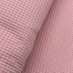 Waffelpique Bio-Baumwolle - Rosé